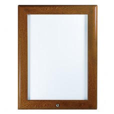 "32mm Lockable Snap Frames - Oak 30"" x 40"""