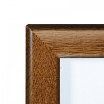 32mm Lockable Snap Frames - Oak