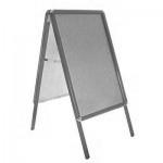 Aluminium A-Board - Grey