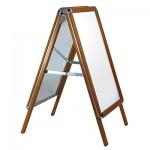 Aluminium A-Board - Oak