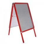 Aluminium A-Board - Red