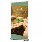 Optima Banner Stand Single Sided - 800mm