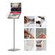 Decorative Brochure Stand PLUS - Landscape