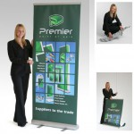 Luxury Banner Stand Single Sided
