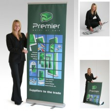 Luxury Banner Stands Single - 800mm